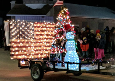 Holiday Parade Wabasso MN