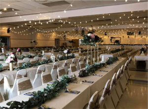Wedding Reception at Wabasso Community Center