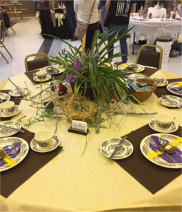 Table Setting at Community Center