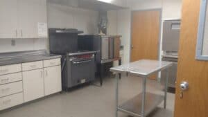 Commnity Center kitchen