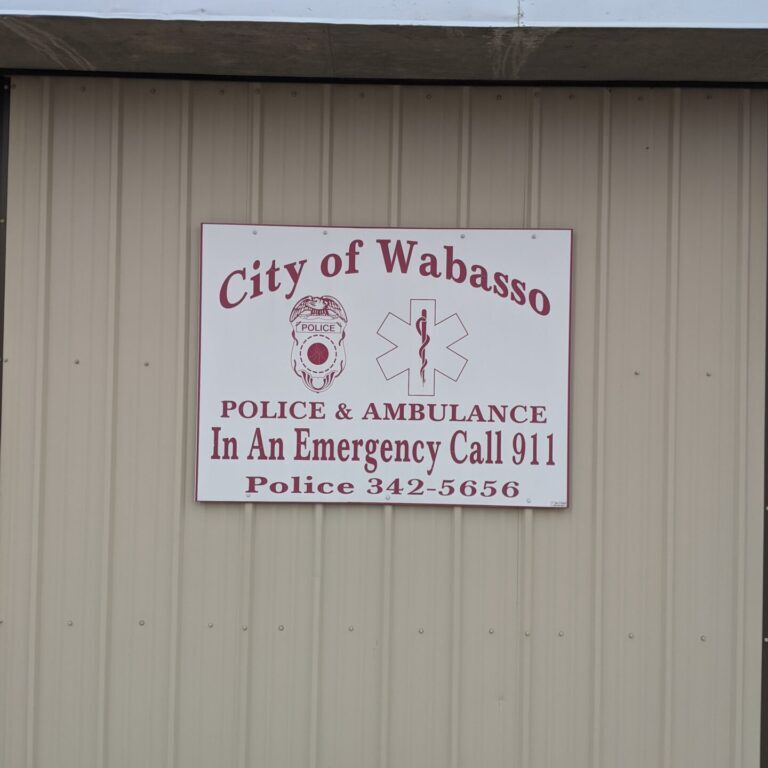 City of Wabsso Police and Ambulance