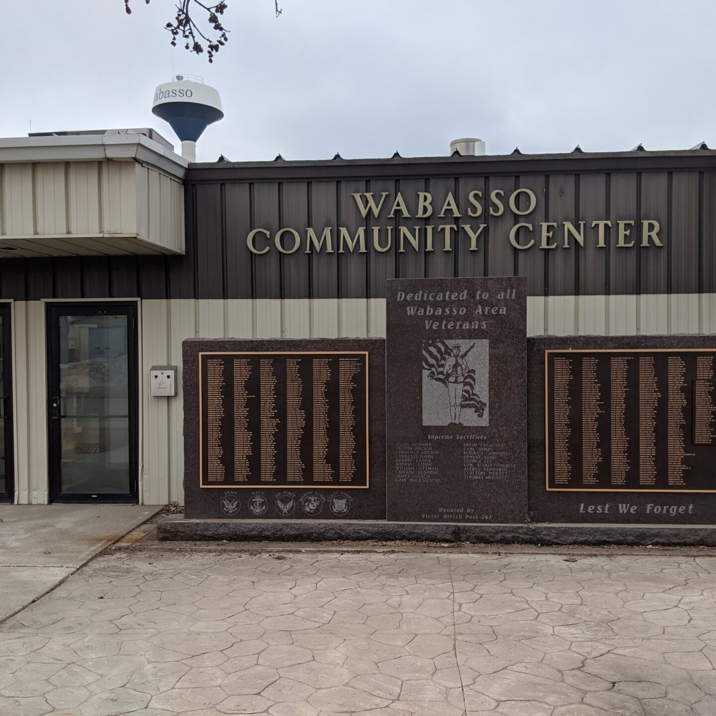 Wabasso Community Center Veterans Memorial