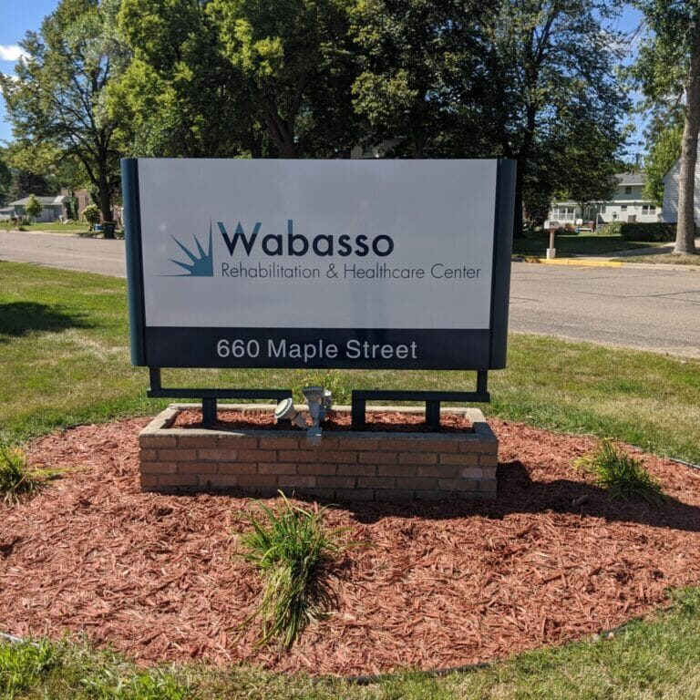 Wabasso Rehabilitation & Healthcare Center Sign